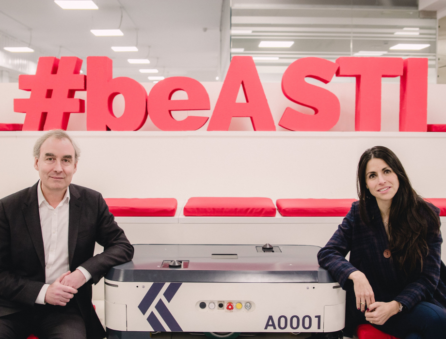 ASTI Mobile Robotics partners with Keensight Capital