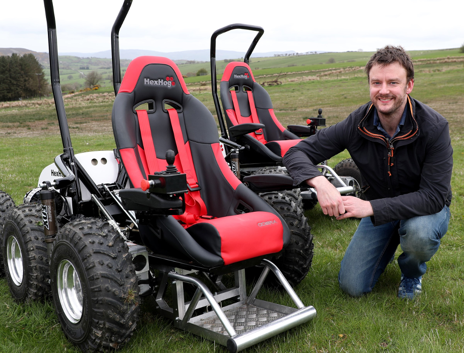 Development Bank of Wales invests in the 'HexHog' wheelchair