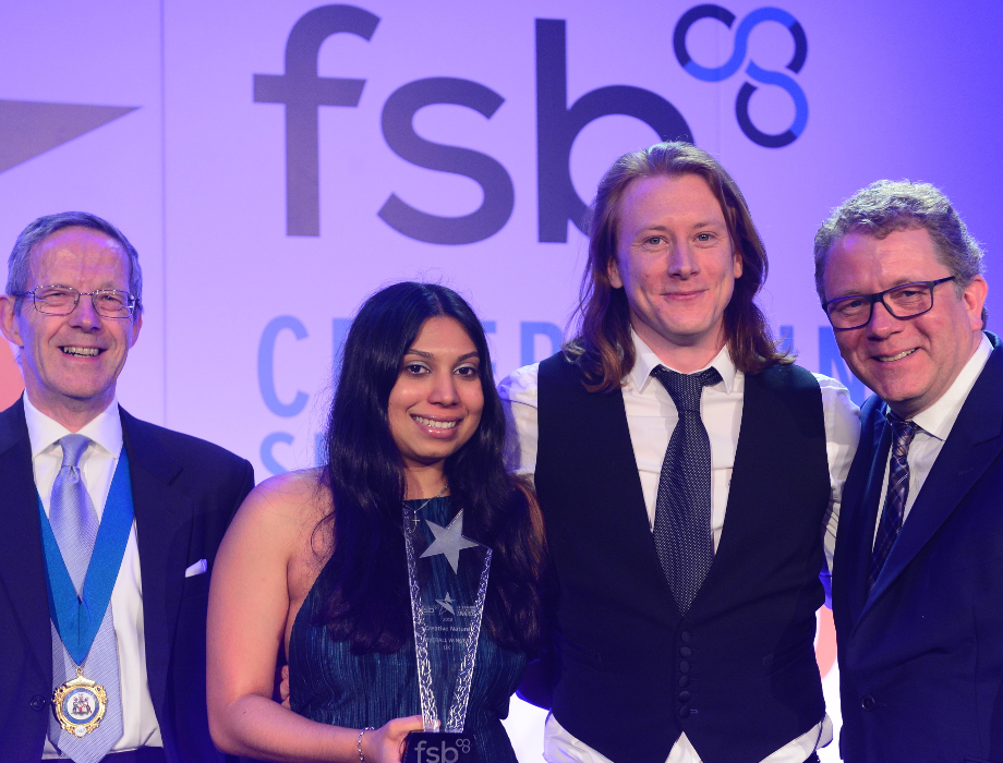 Creative Nature superfood brand named as the FSB UK Small Business of the Year 2018