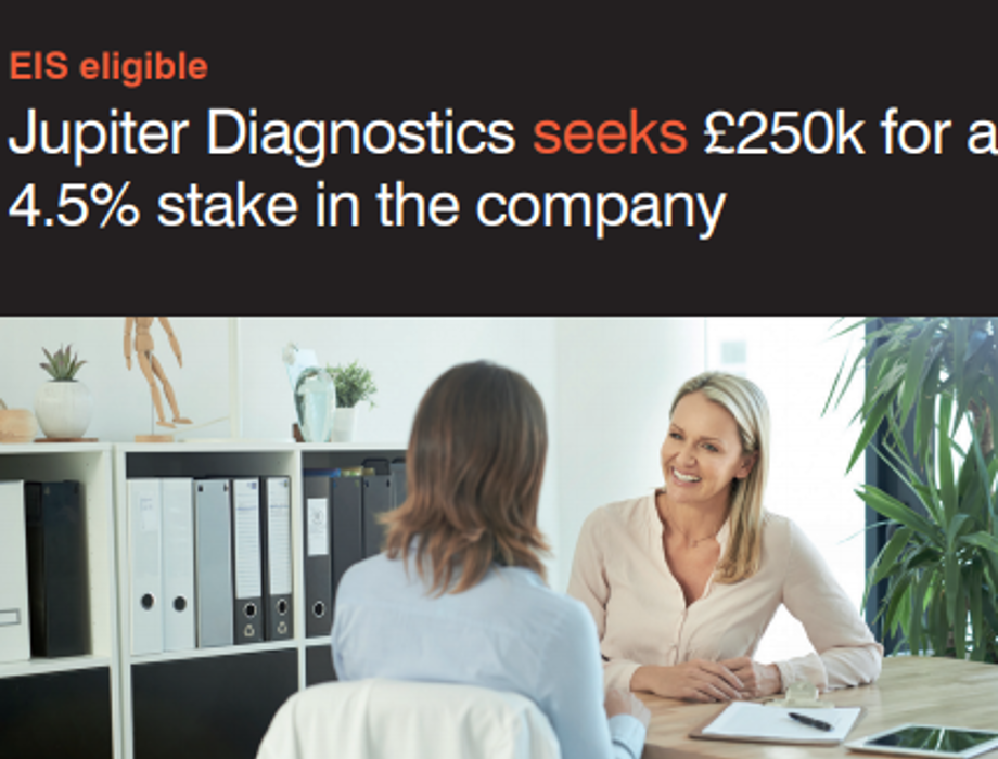 Investment Opportunity in Jupiter Diagnostics