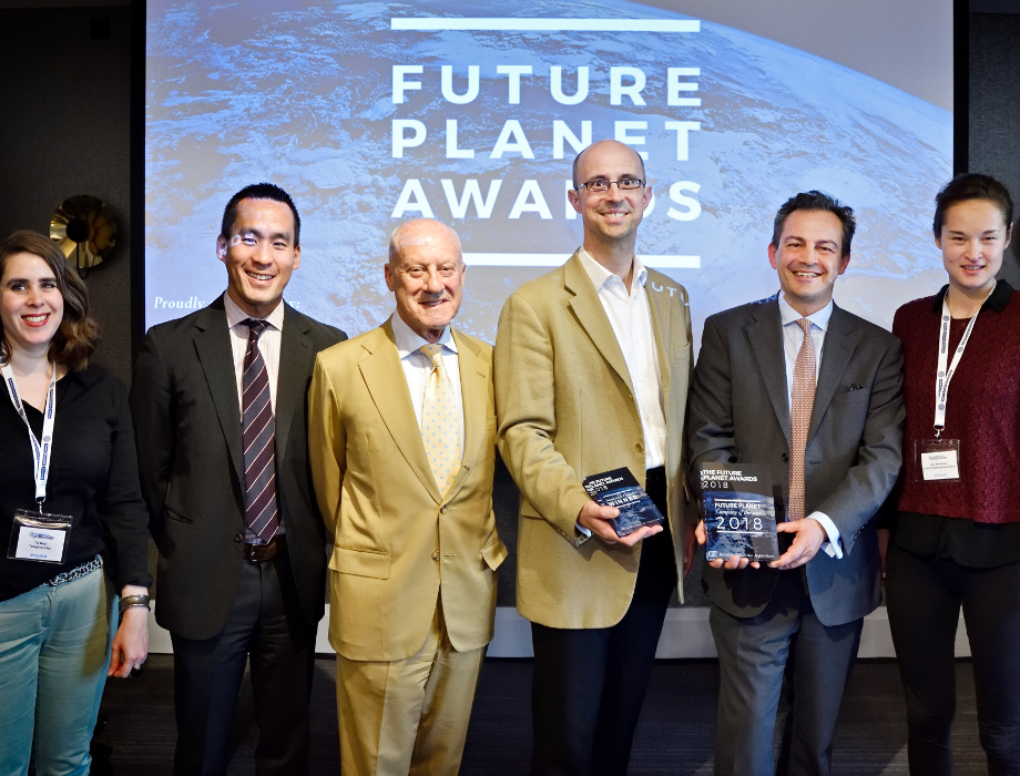Origami Energy crowned overall winner of the Future Planet Awards 2018