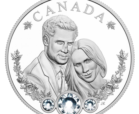 www.coininvest.com launch celebratory Silver Coin for Royal Wedding