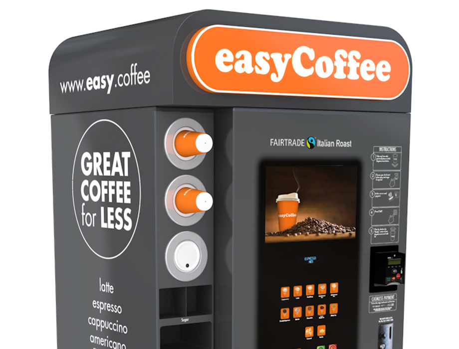 easyCoffee receives £10m investment from Stellar