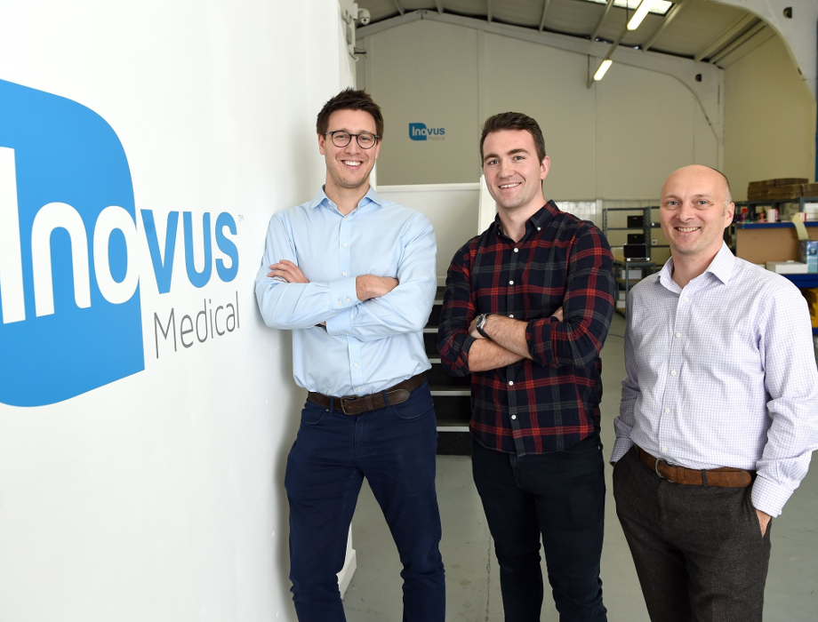 Inovus Medical set to expand following £500k Mercia investment